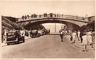 Clacton on Sea The Bridge Essex Early 1900's RP Postcard
