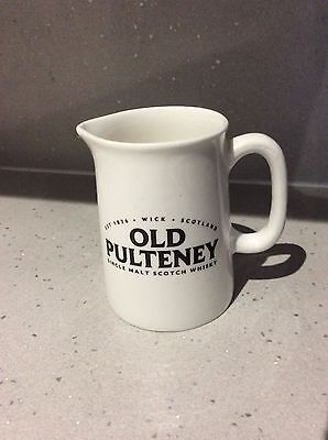 Old Pulteney miniature whisky jug / pitcher