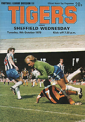 1979/80 Hull City v Sheffield Wednesday, Division 3, PERFECT CONDITION
