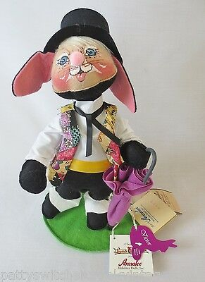 ANNALEE Soft Sculpture Doll-EASTER PARADE-Victor BUNNY-1998