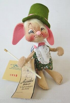 ANNALEE Soft Sculpture Doll-EASTER PARADE-Boy BUNNY-1998