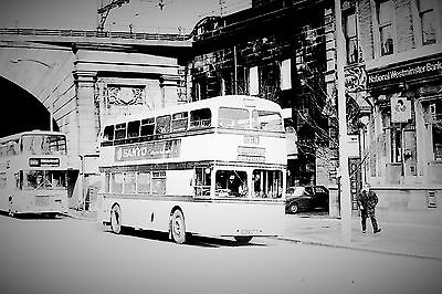 35Mm Vintage Sheffield Bus Negative...sold With Copyright