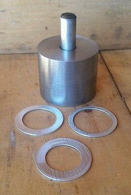 "New Coin Ring Center Punch That Will Punch A 1/2"" Hole In 4 Different Coins"