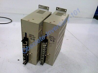Lot Of 2 Omron Power Supply 100W 24Vdc 4.6Amp S82L1024