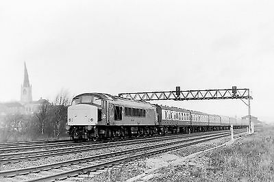 35Mm B&w Br Train View Negative ...sold With Copyright