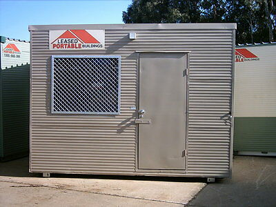 3.6x2.4m Portable Building / Site Shed. Great Condition, Furnished Interior.