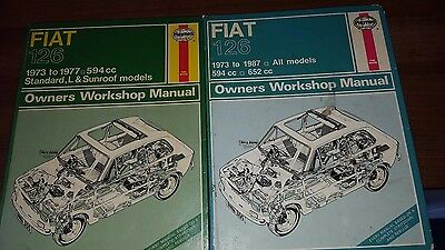 fiat 126 workshop manuals