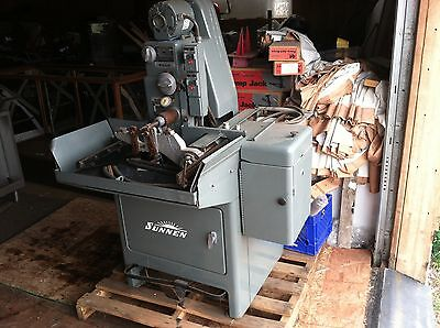 2 SUNNEN machines & tools 1MBB1600 ms HONING MACHINE 1 MBB-1670 c Power Stroker