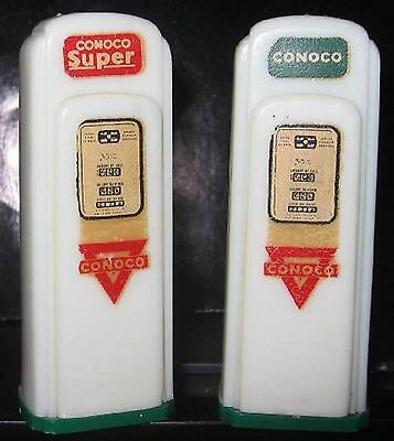 Syers Brothers Conoco Sturgis Ky Gas Pump Salt and Pepper Shakers