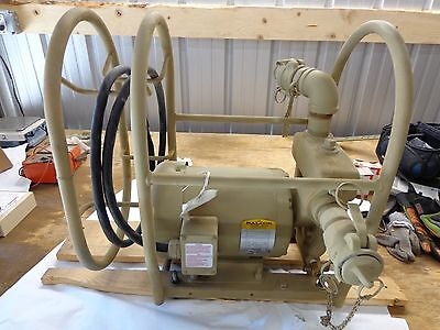 "Barnes Crane Military Spec. 2"" Centrifugal Pumping Unit, 2HP,  3 Phase, 65 GPM"