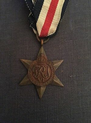 Ww2 The France And German  Star Medal