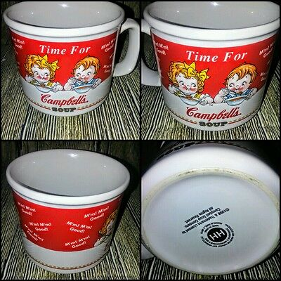 Campbell Kids Campbell Soup 1998 Collectible Soup Mug / Cup 16 Oz.