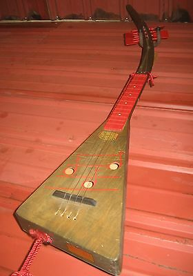 "1965 Swagerty ""Singing Treholipee"" Tenor Ukulele. 50"" Long!"