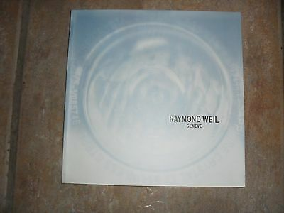 Raymond Weil Watch Catalogue and Price List and Tango Brochure (2006)