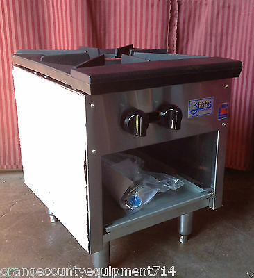 """NEW 18"""" Stock Pot Kettle Stove Gas Double Burner Stratus SSP-18 #1068 Commercial"""