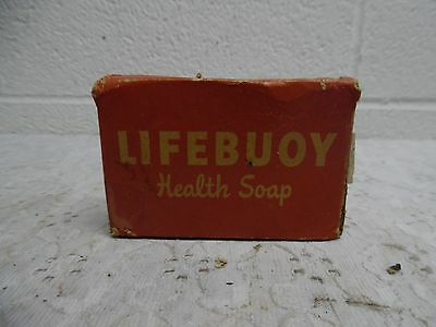 Vintage Lifebuoy Health Soap Bar in Original Packaging