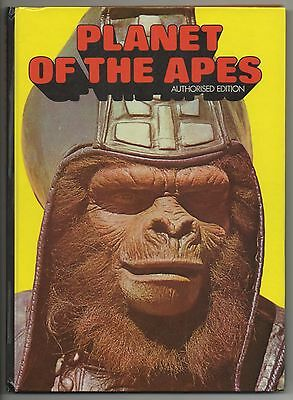 PLANET OF THE APES Authorised Edition – 1975 Annual – Very Good – Vintage Rare