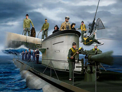 Revell 02525 German Navy Crew WWII 51 Figuren  1:72 Neu