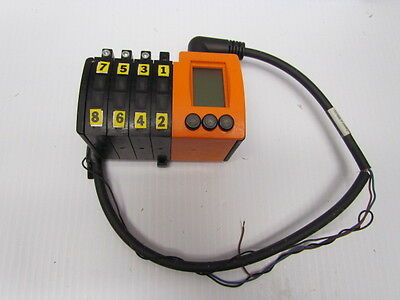 IFM Fiber Optic Controller / with 7 SENSORS INCLUDED