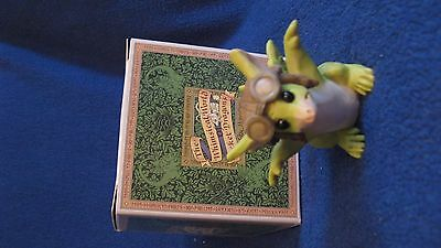 "The Whimsical World Of Pocket Dragons ""zoom Zoom"" 1992 Boxed Mint"