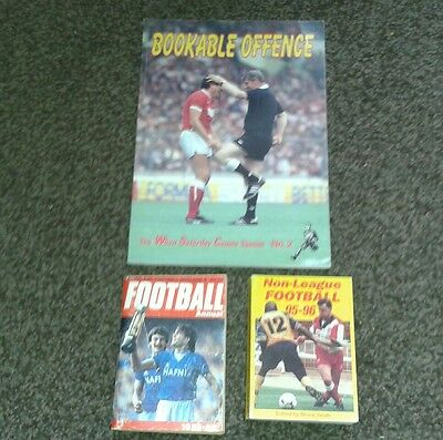 football annuals with one none league good condition. See Details