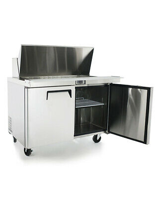 "NEW 48"" Mega Top Refrigerated Sandwich Salad Prep Table Atosa MSF8306 #1229 NSF"