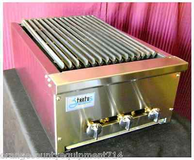 "NEW 18"" Radiant Char Broiler Gas Grill Stratus SRB-18 #1065 Burger Steak BBQ USA"