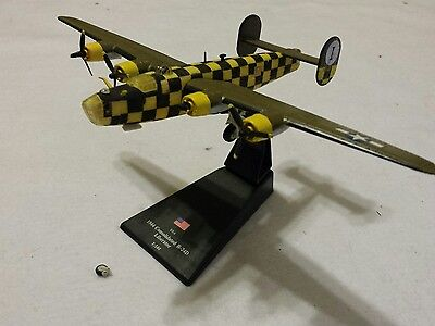 Consolidated B-24D Liberator 1944 Diecast& Plastic Model WWII 1/144