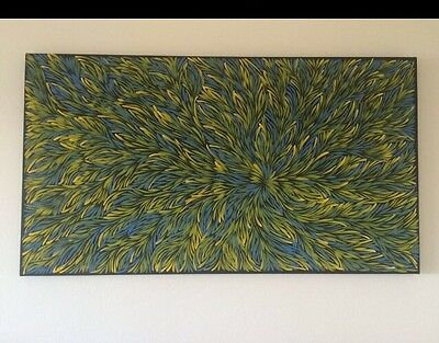 Aboriginal Art Painting By Caroline Numina