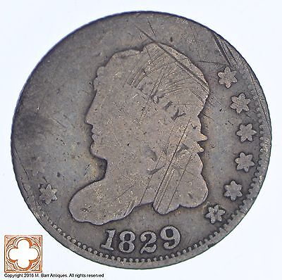 1829 Capped Bust Half Dime *144