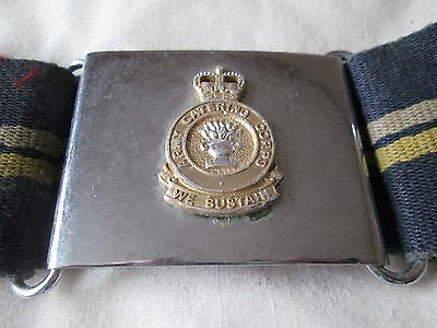 British Army 1980s Catering Corps Stable Belt with Buckle