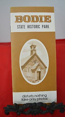 Vintage 1979 Bodie State Park Travel Brochure - CA California