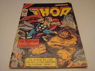 3 TREASURY EDITIONS French Canadian variant THOR, HULK and FANTASTIC FOUR