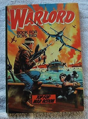 Warlord Book For Boys Annual 1982