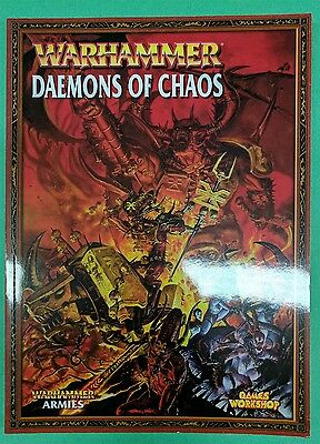 Warhammer Daemons Of Chaos Softcover 7Th Ed Army Book New Unused