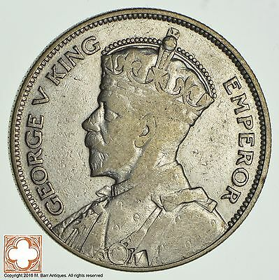 1935 New Zealand 1/2 Crown *9393
