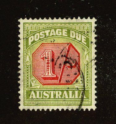 Australia - Used Very Fine,  1938 1 Shilliing Postage Due, Sc. #J70 SG #D118