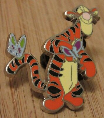 Disney 2003 Collectible Trading Pin Tigger & Butterflies Excellent Condition