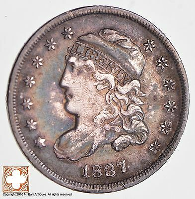 1837 Capped Bust Half Dime LG 5 *2669