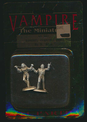 1990's Ral Partha miniature 69-201 for WOD Vampire: The Masquerade  Gothic Punk