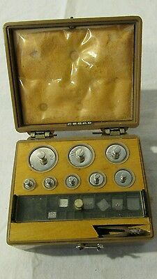 Vintage Ainsworth Class S Metric weight Set