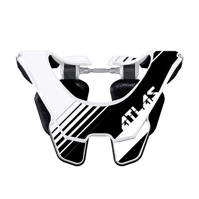 2017 Atlas Prodigy Youth MX Neck Brace - Oreo Motocross Dirt Trail Offroad