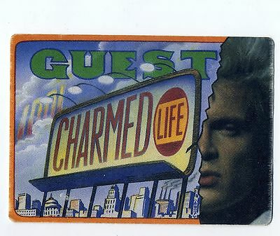 Silk Backstage Guest Pass Charmed Life Tour BILLY IDOL