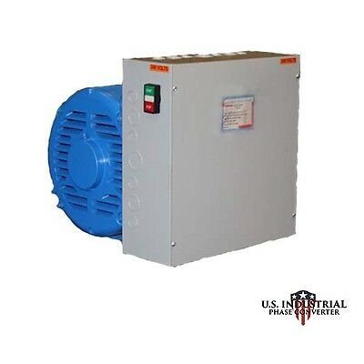 50 Hp Rotary Phase Converter New, Indoor/outdoor Use Heavy Duty, Free Shipping!!