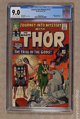 Thor (1962-1996 1st Series Journey Into Mystery) #116 CGC 9.0 0962652012