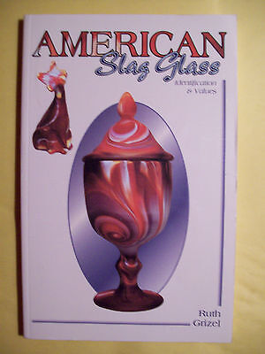 VINTAGE SLAG GLASS $$$ id PRICE GUIDE COLLECTOR'S BOOK
