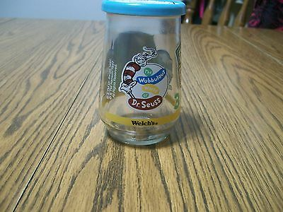 welch's dr seuss the grinch and friends #3 in a series of glass jar jars
