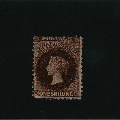 South Australia - State Stamp 1/- Brown Victoria Sideface - MINT