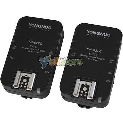 Yongnuo YN-622C Wireless TTL Flash Trigger for Canon 350D 5D II