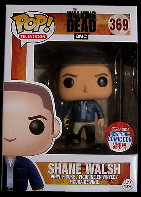 THE WALKING DEAD Shane Walsh - Limited NYCC 2016 Edition - Funko Pop!
